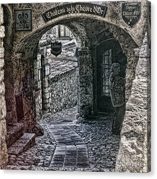 Chateau De La Chevre D'or Canvas Print