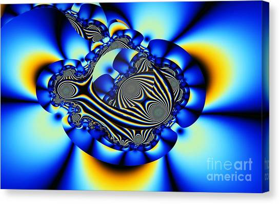 Chatham Canvas Print - Chatham Blue 2 by Ron Bissett