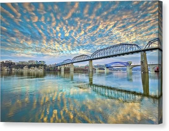 Chattanooga Has Crazy Clouds Canvas Print