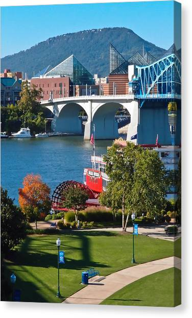 Chattanooga Landmarks Canvas Print