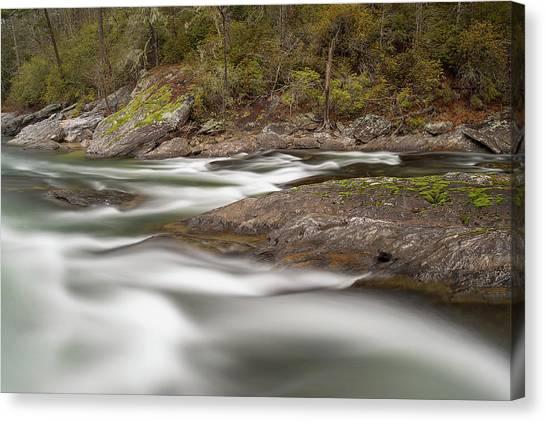 Chattooga River 23 Canvas Print by Derek Thornton