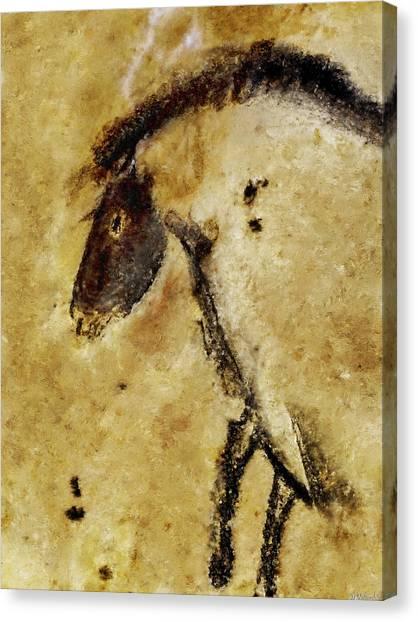Chauvet Horse Canvas Print