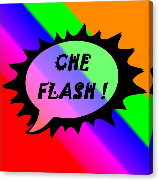 Che Flash Canvas Print