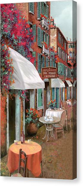 Chairs Canvas Print - Che Tavolo Vuoi by Guido Borelli