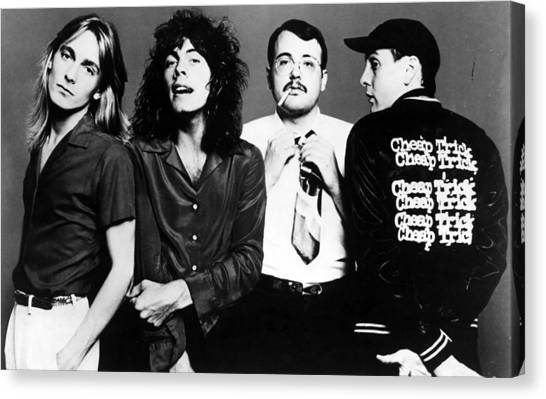 Cheap Trick, Robin Zander, Tom Canvas Print by Everett