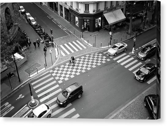 Checkmate, Paris Canvas Print