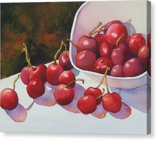 Cheery Cherries Canvas Print