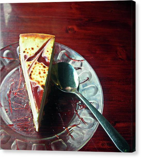 Cheesecake Canvas Print