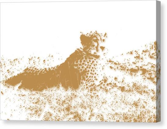 Mount Kilimanjaro Canvas Print - Cheetah 4 by Joe Hamilton