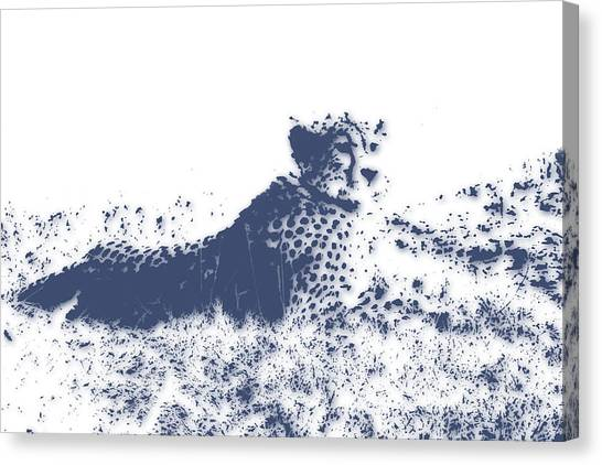 Mount Kilimanjaro Canvas Print - Cheetah by Joe Hamilton