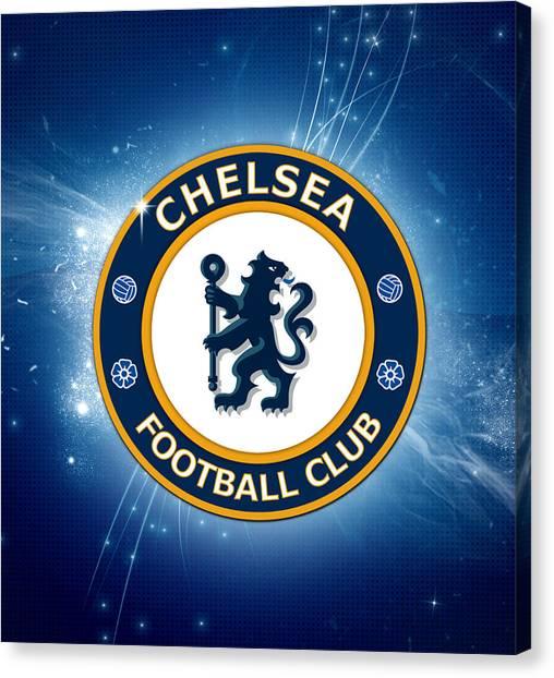 Chelsea Fc Canvas Print - Chelsea Fc,the Blues by Pendi Kere