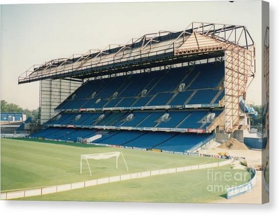 Stamford Bridge Canvas Print - Chelsea - Stamford Bridge - East Stand 9 - August 1991 by Legendary Football Grounds