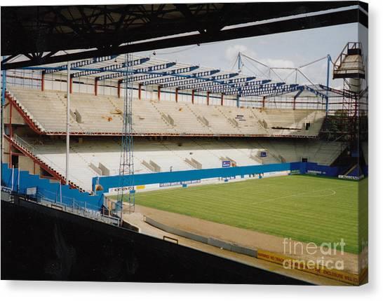 Stamford Bridge Canvas Print - Chelsea - Stamford Bridge - North Stand 1 - August 1994 by Legendary Football Grounds