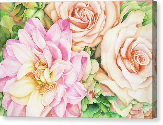Chelsea's Bouquet Canvas Print