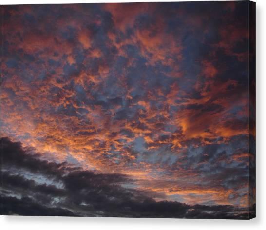 Chemical Sky Canvas Print by Chad Natti