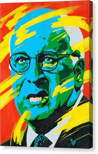 Dick Cheney Canvas Print - Cheney by Dennis McCann
