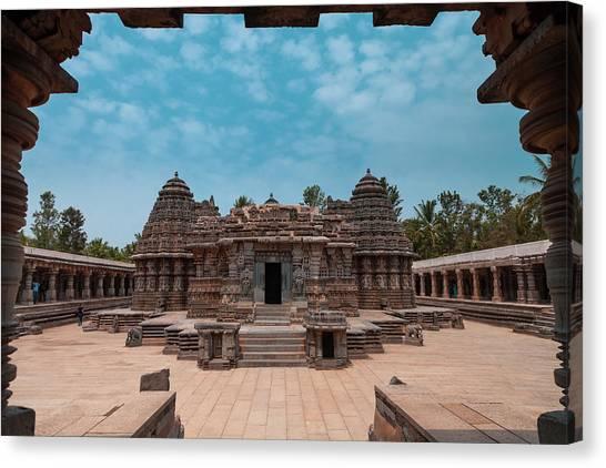 Chennakesava Temple, Somnathpura Canvas Print