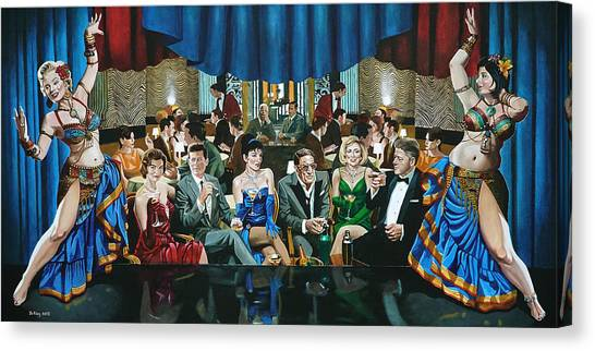 Cherchez La Femme Canvas Print by Jo King