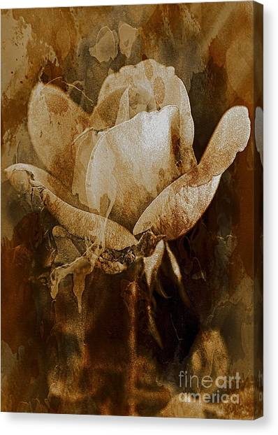 Canvas Print featuring the photograph Cherished Memories by Michael Moriarty