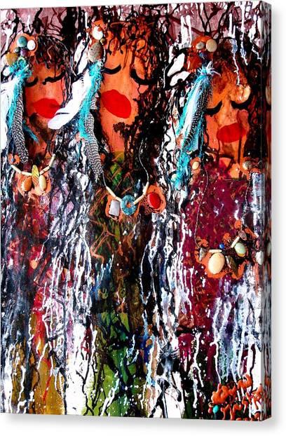 Cherokee Trail Of Tears  Canvas Print
