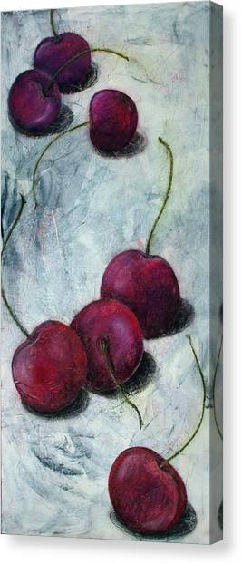 Cherries Jubilee Canvas Print by Sandy Clift