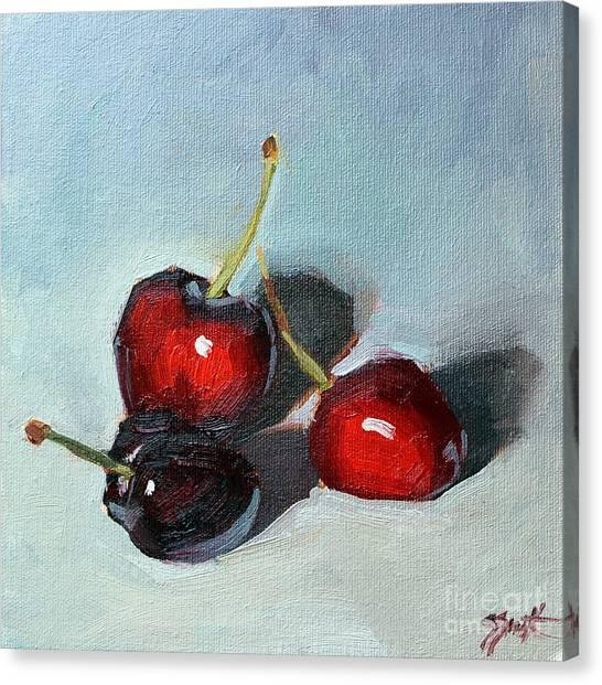 Cherries Jubillee Canvas Print