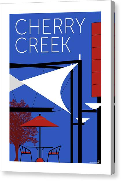 Cherry Creek Blue Canvas Print