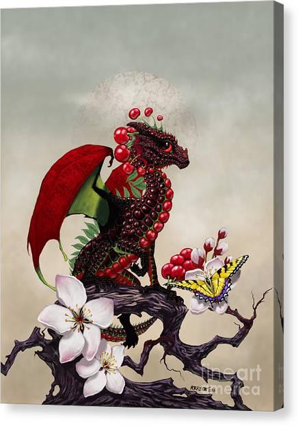 Cherry Dragon Canvas Print