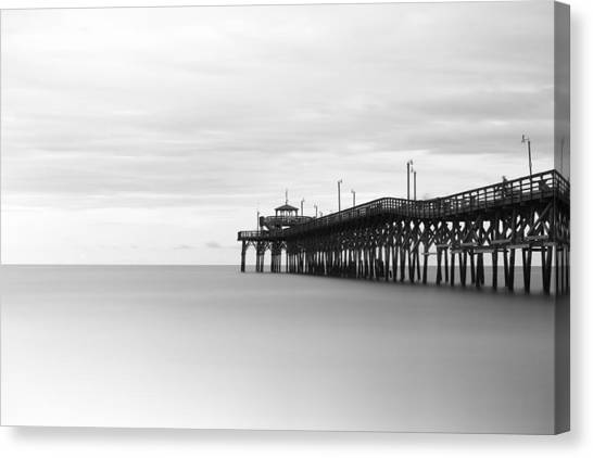 Grove Canvas Print - Cherry Grove Pier by Ivo Kerssemakers