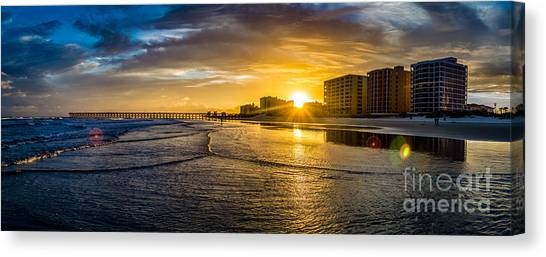 Cherry Grove Sunset Canvas Print