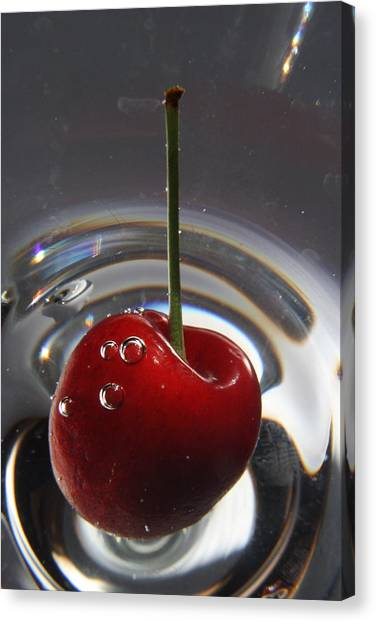 Cherry Martini Canvas Print