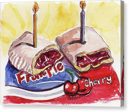 Cherry Pie Indulgence Canvas Print