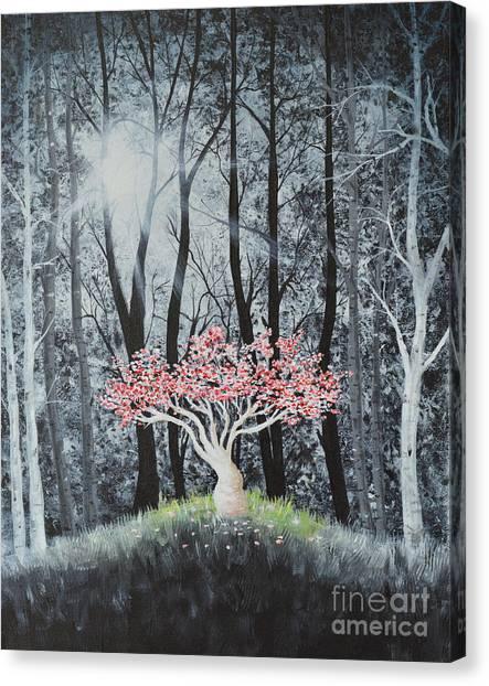 Cherry Surprise Canvas Print