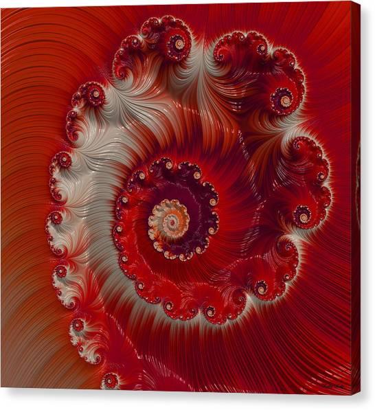 Cherry Swirl Canvas Print