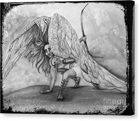 Cherubim Digital Edit Canvas Print