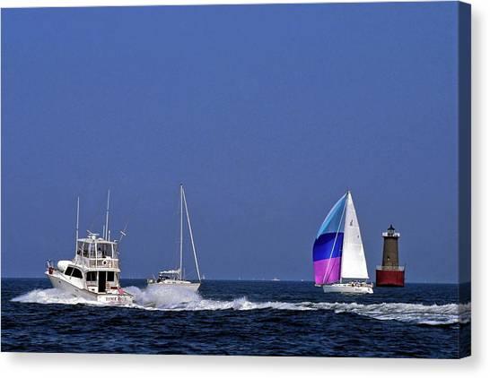 Chesapeake Bay Action Canvas Print