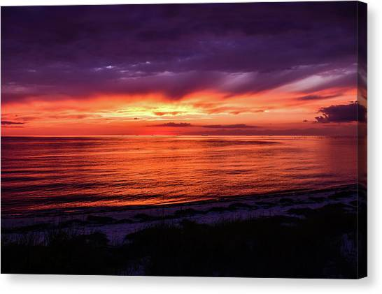Chesapeake Bay Sunset Canvas Print
