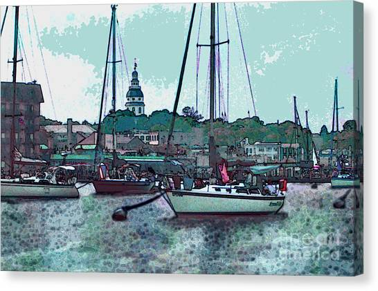 Chesapeake Bayscape Canvas Print