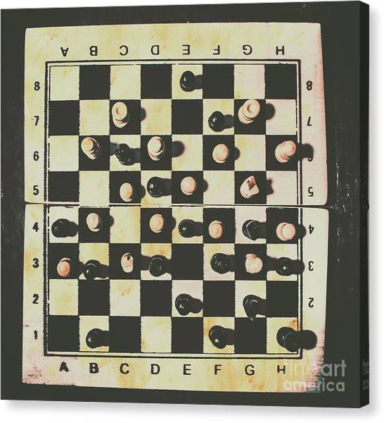 Brains Canvas Print - Chessboards And Playing Pieces by Jorgo Photography - Wall Art Gallery