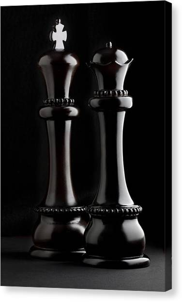 Queens Canvas Print - Chessmen I by Tom Mc Nemar