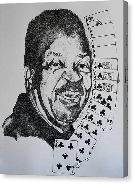 Chester Johnson Tribute  Canvas Print