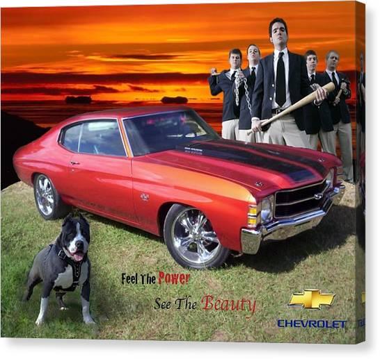 Chevelle Ad Canvas Print by Ryan Flanagan