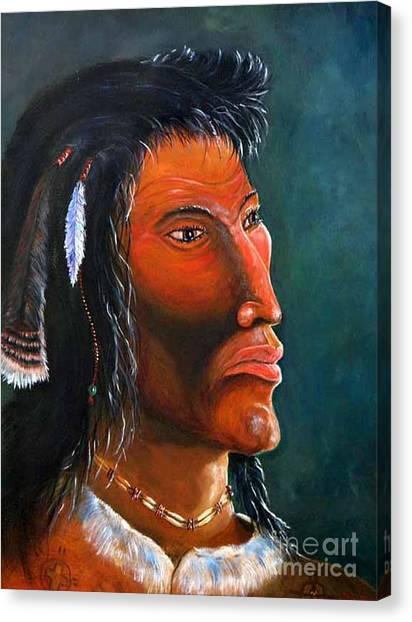 Cheveyo Spirit Warrior  Canvas Print