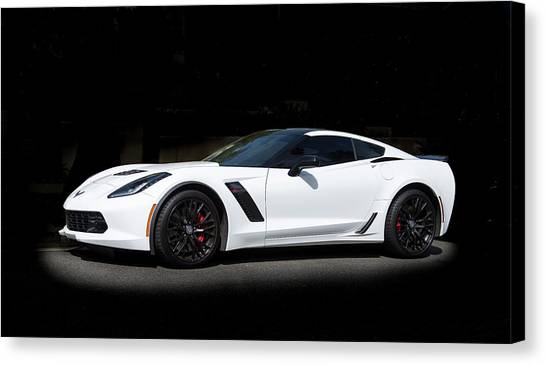 Chevrolet Corvette Z06 - 2017  Canvas Print