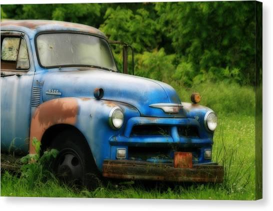 Chevy 6500 Farm Truck Canvas Print