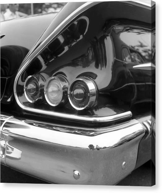 Chevy Impala Canvas Print by Richard Singleton