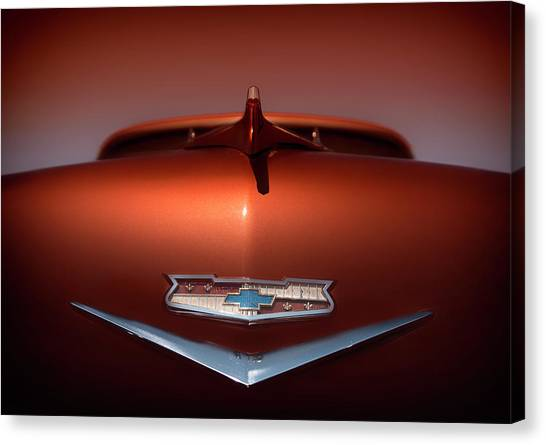Chevy Nomad Canvas Print by Larry Helms