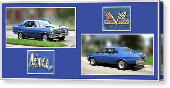 Chevy Nova Horizontal Canvas Print