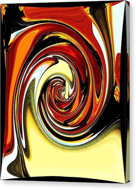 Chewey Candy Canvas Print by Marsha Heiken