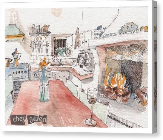 Chez Gwen Canvas Print